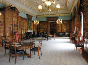 The Library at Haddo House